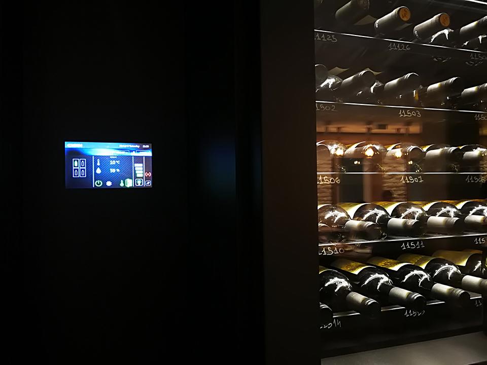 Cibin, cantina-refrigerata, Wine-cellar,