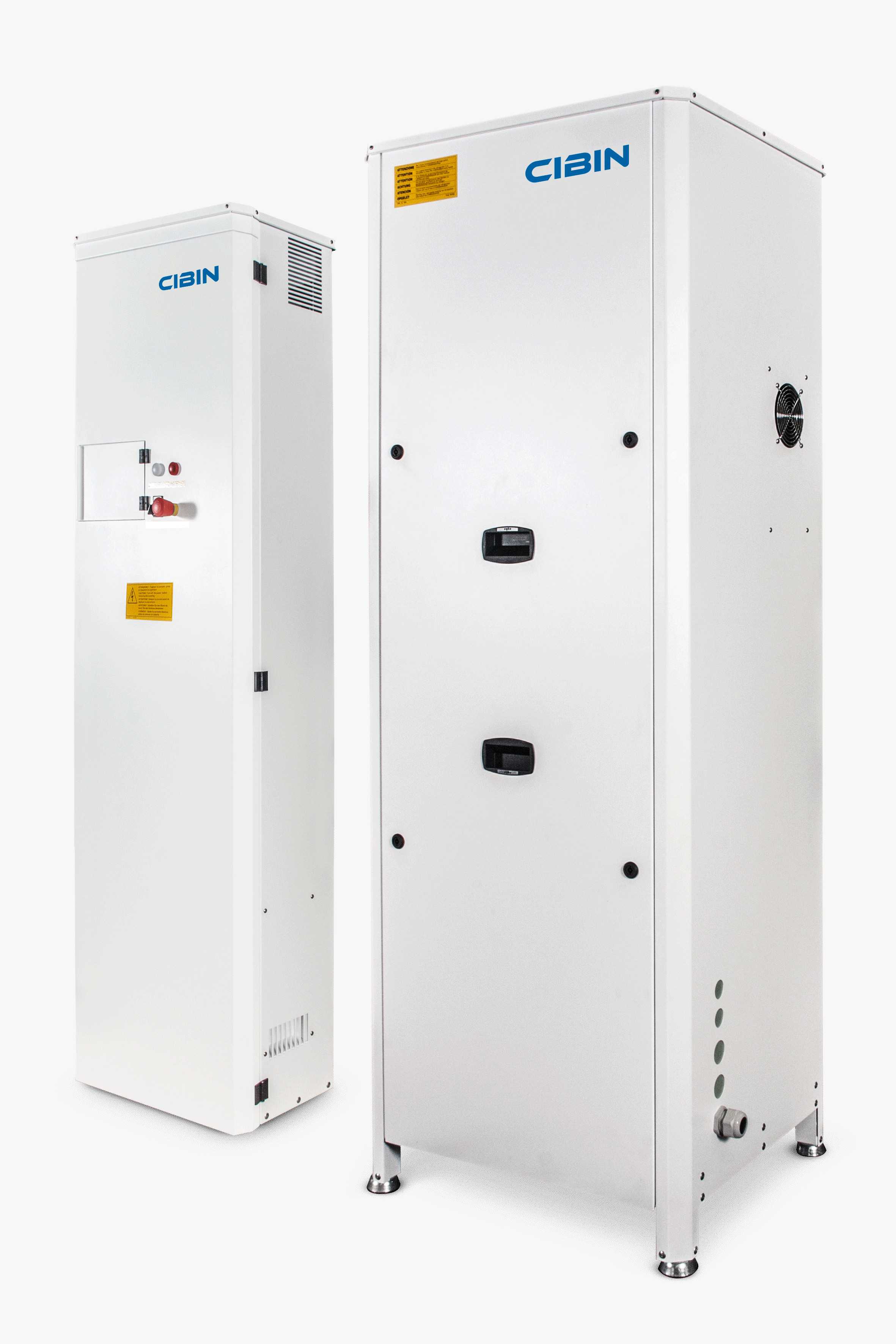 Centrali frigorifere con quadro elettrico remoto