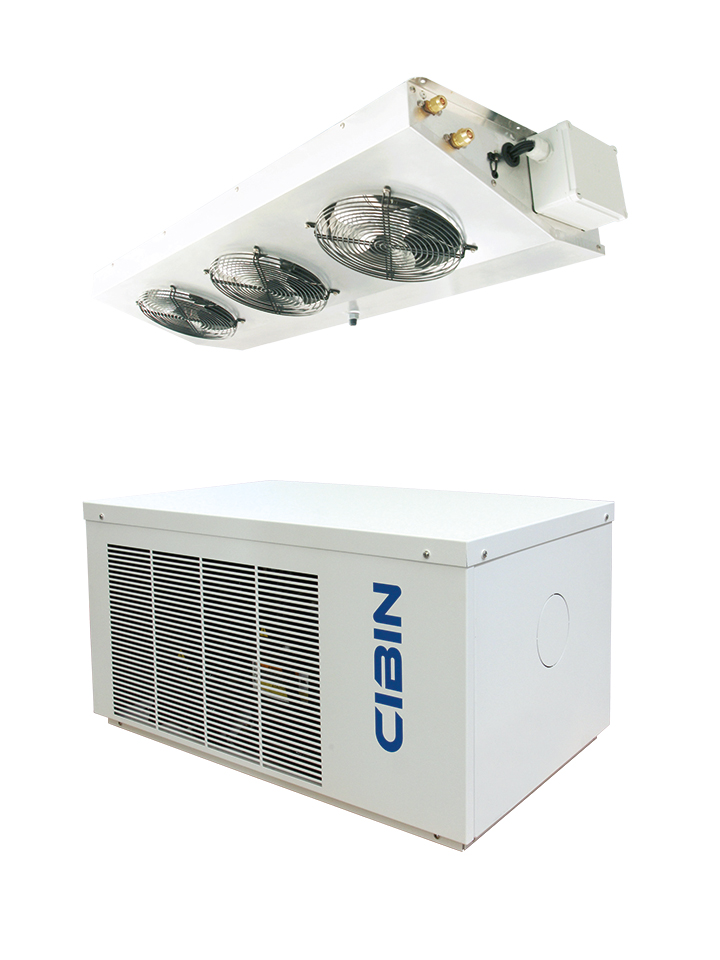 Split systems for cold rooms
