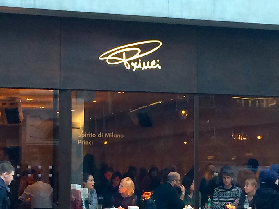 Princi Cafè Spirito di Milano